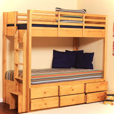 wooden bunk beds with desk wood bunk bed with desk underneath