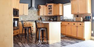 kitchen with light maple cabinets kitchen reveal 5 problems and easy solutions ideas for