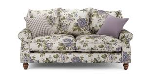 Dfs Chesterfield Sofa Furniture New Floral Print Sofas Chenille Chesterfield Sofa