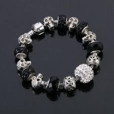 skull bracelet charm images New crystal charm skull bracelet jpg