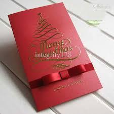 Christmas Cards Business Wholesale Christmas Cards Business Pearl Ribbon Christmas Cards