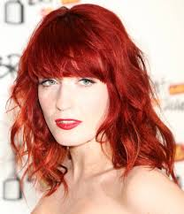 medium length hairstyles with color red hair color guide