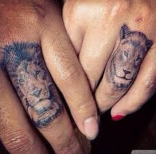 30 matching tattoo ideas for couples matching couples lion and