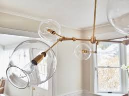 hand blown glass light globes items similar to handblown glass globe bubble light chandelier