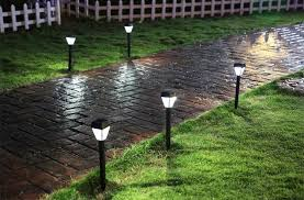 Solar Powered Outdoor Lights by 3pcs Led Solar Light Outdoor Yard Path Way Street Solar Power Lawn