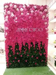 wall flowers best 25 flower wall ideas on office party decorations