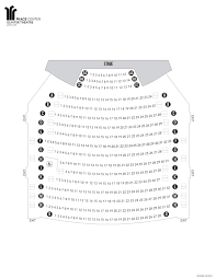 Disney Concert Hall Floor Plan by Seating Charts Peace Center Official Site