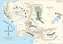 a map of middle earth middle earth the one wiki to rule them all fandom powered by wikia