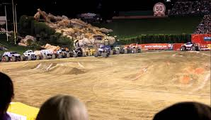 monster truck jam anaheim monster truck jam anaheim 2012 metal mulisha youtube