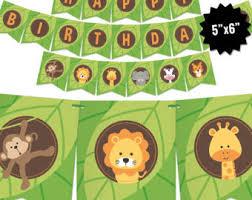 safari birthday etsy