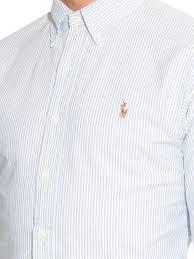 light blue striped polo dress ralph lauren dress pants polo ralph lauren slim fit striped cotton