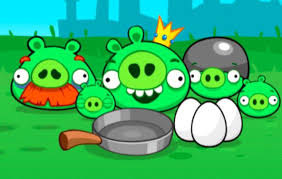 angry birds pigs 1 9game angry birds