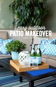 Easy Backyard Patio Easy Outdoor Patio Makeover A Night Owl Blog