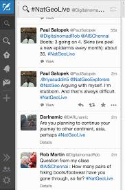 a personal message from paul salopek twitter chat questions
