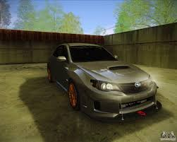 2011 subaru wrx modified subaru impreza wrx sti 2011 for gta san andreas