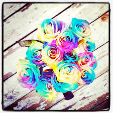 tie dye roses sit a spell and smell the tie dye roses with light