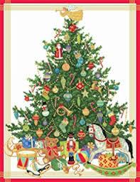 caspari cards caspari angel decorating tree christmas cards box