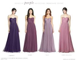 violet bridesmaid dresses mismatch color bridesmaids purple search wedding stuffs