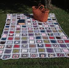 tutorial piastrelle uncinetto la coperta con mattonelle e civette spiegazioni