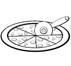 pizza coloring coloringcrew printable pizza color