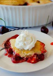 cuisine cherry easy cherry cobbler