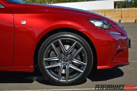 lexus is350 f kit 2014 lexus is 350 f sport review video performancedrive