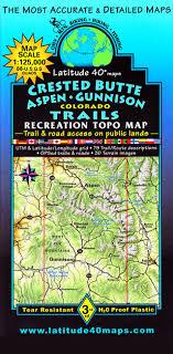 aspen map crested butte aspen gunnison trails latitude 40 maps