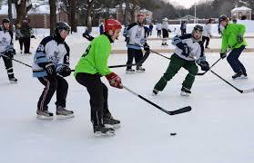 hockey skates into saratoga park times union