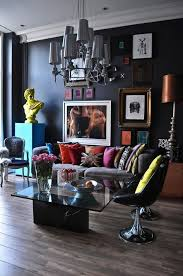 Black Furniture Living Room Ideas 26 Gorgeous Living Rooms With Black Walls Digsdigs