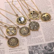 long pendant necklace vintage images Wholesale magnifying glass cage pendant long god chain necklaces jpg