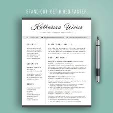 Modern Professional Resume Templates Best 25 Modern Resume Template Ideas On Pinterest Modern Resume