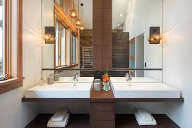 light wood bathroom with h andtuchhalter bathroom contemporary and