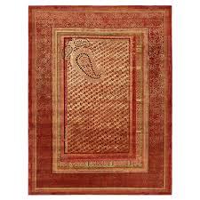 tarun tahiliani silk u0026 wool rug 9 u0027x12 u0027