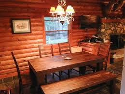 Log Dining Room Sets by Cabins For Rent Northern Wi The Wilderness Reserve