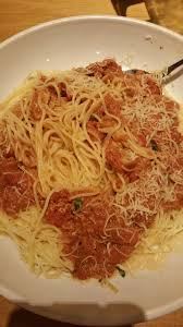 Olive Garden Five Cheese Marinara - this was really good it was the angel hair pasta with the five