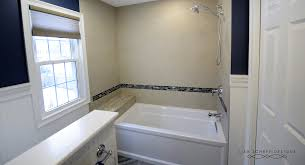 boys bathroom in navy