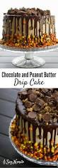 Halloween Chocolate Cake by Check Out Chocolate And Peanut Butter Drip Cake It U0027s So Easy To