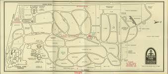 Memphis Map Memorial Park Cemetery Memphis Tennessee