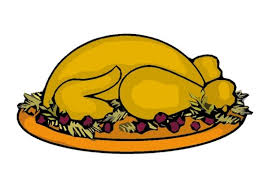 Thanksgiving Feast Clip Turkey Clipart Thanksgiving Feast Pencil And In Color Turkey