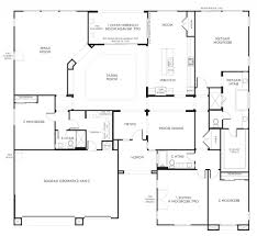 Single Storey Floor Plans by Home Design 87 Astounding Single Story House Planss