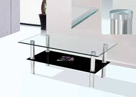 smoked glass coffee table clear and smoked glass coffee table bm01 contemporary