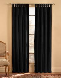 Width Of Curtains For Windows Microsuede Tab Top Wide Width Curtain Panel Curtainworks