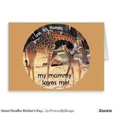 s day giraffe sweet giraffes s day card from child to photo of