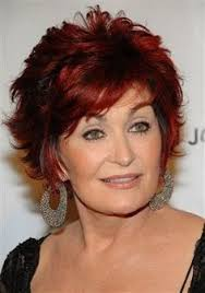 sharon osbournes haircolor sharon osbourne turning her breast implants into paperweights for