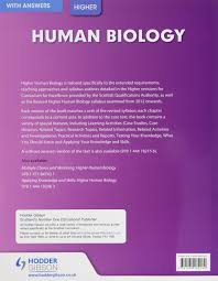 higher human biology with answers sqa amazon co uk clare marsh