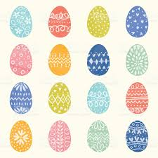 decorative eggs decorative easter eggs stock vector 509663944 istock