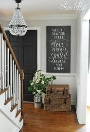 Home Entrance Decor Ideas Best 25 Stair Landing Decor Ideas On Pinterest Landing Decor