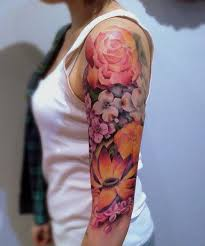 sleeve floral tattoos for styles
