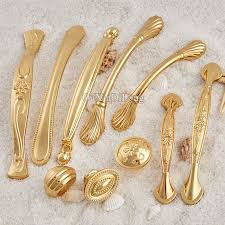 Online Get Cheap Gold Furniture Handles Aliexpresscom Alibaba - Kitchen door cabinet handles