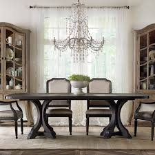Dining Tables by Hooker Furniture Corsica Rectangular Pedestal Dining Table Hayneedle